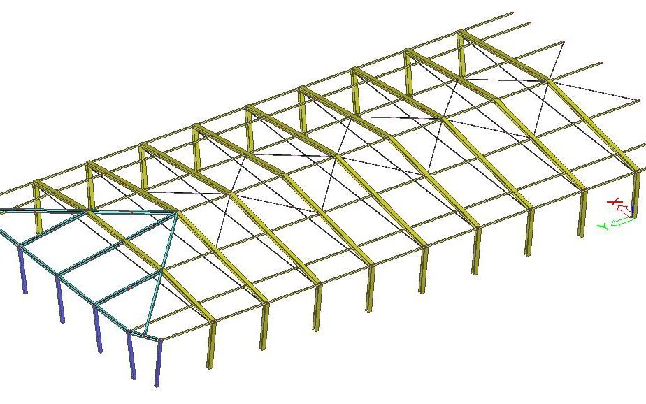 progettazione sopraelevazione edificio industriale